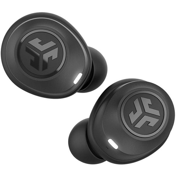 Casti JLAB Air, True Wireless, Bluetooth, In-Ear, Microfon, JLab EQ, negru