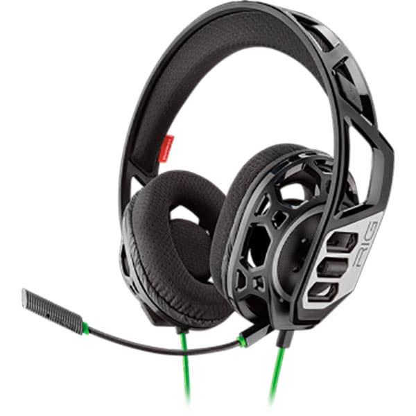 Casti gaming PLANTRONICS Rig 300 Hx, Noise cancelling, Binaural, Xbox One, 3.5mm, negru