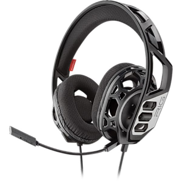 Casti gaming PLANTRONICS Rig 300Hc, Noise cancelling, Binaural, Nintendo Switch, Laptop/PC, 3.5mm, negru