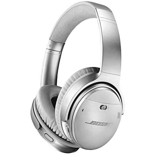Casti BOSE Quiet Comfort 35 II, Bluetooth, On-Ear, Microfon, Noise Cancelling, argintiu
