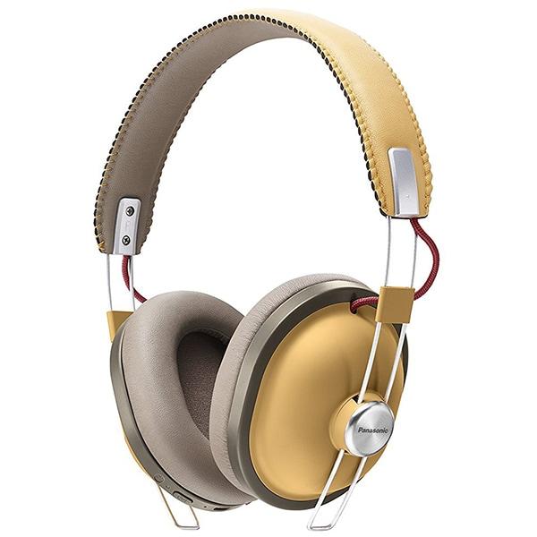 Casti PANASONIC RP-HTX80BE-C, Bluetooth, On-Ear, Microfon, bej