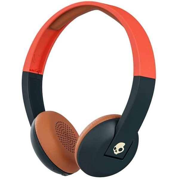 Casti SKULLCANDY Uproar S5URHW-510, Bluetooth, On-ear, Microfon, Explore Orange