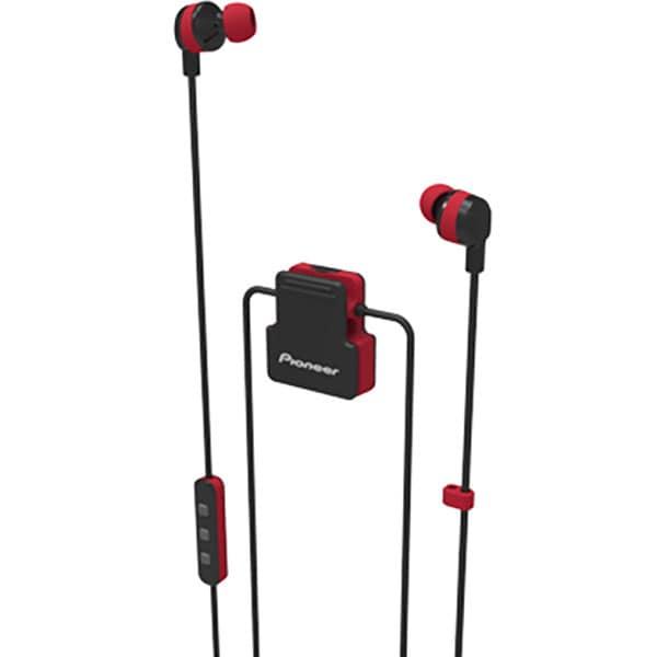 Casti PIONEER ClipWear Active SE-CL5BT-R, Bluetooth, In-Ear, Microfon, rosu
