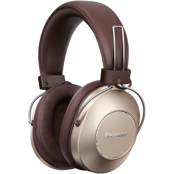 Casti PIONEER SE-MS9BN, Bluetooth, NFC, Over-Ear, Microfon, Noise Cancelling, maro