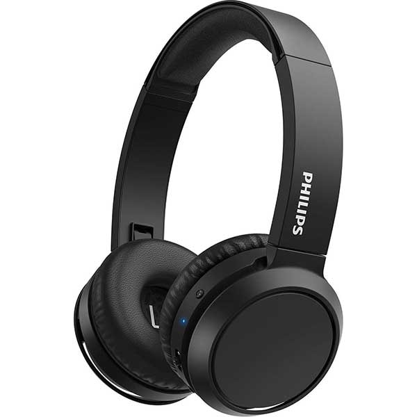 Casti PHILIPS TAH4205BK/00, Bluetooth, On-Ear, Microfon, negru