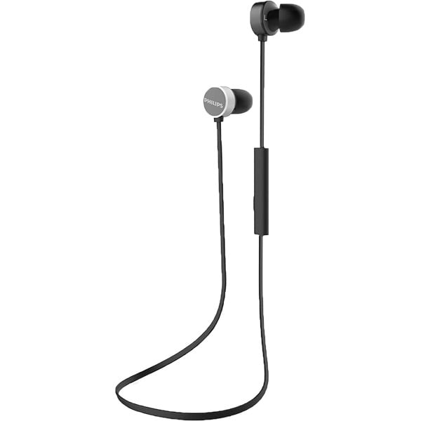 Casti PHILIPS UpBeat TAUN102BK/00, Bluetooth, In-Ear, Microfon, negru