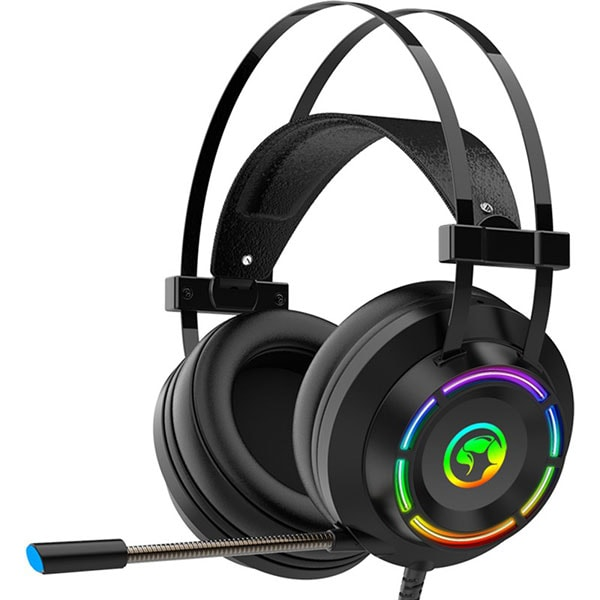 Casti Gaming MARVO HG9062, 7.1 virtual, USB, negru