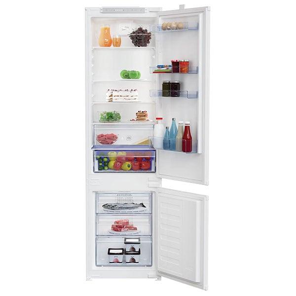 Combina frigorifica incorporabila BEKO BCHA306E3S, No Frost, 279 l, H 193.5 cm, Clasa A++, alb