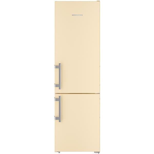 Combina frigorifica LIEBHERR CNbe 4015, Comfort NoFrost, 356 l, H 201.1 cm, Clasa E, bej