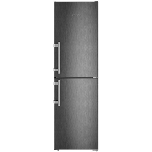 Combina frigorifica LIEBHERR CNbs 3915, Comfort NoFrost, 340 l, H 201.1 cm, Clasa E, dark inox