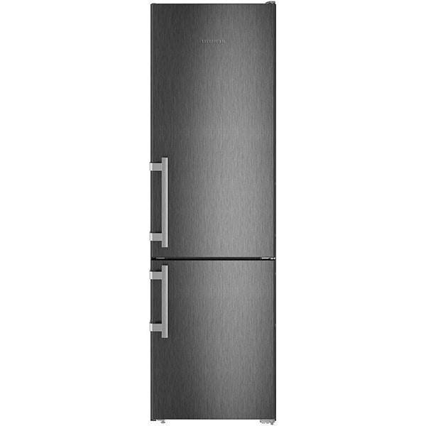 Combina frigorifica LIEBHERR CNbs 4015, Comfort NoFrost, 356 l, H 201.1 cm, Clasa E, dark inox