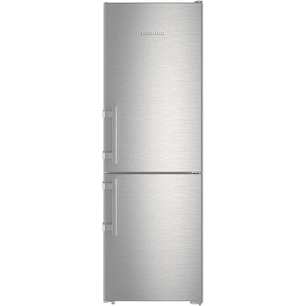 Combina frigorifica LIEBHERR CNef 3515, No Frost, 308 l, H 181.7 cm, Clasa E, inox