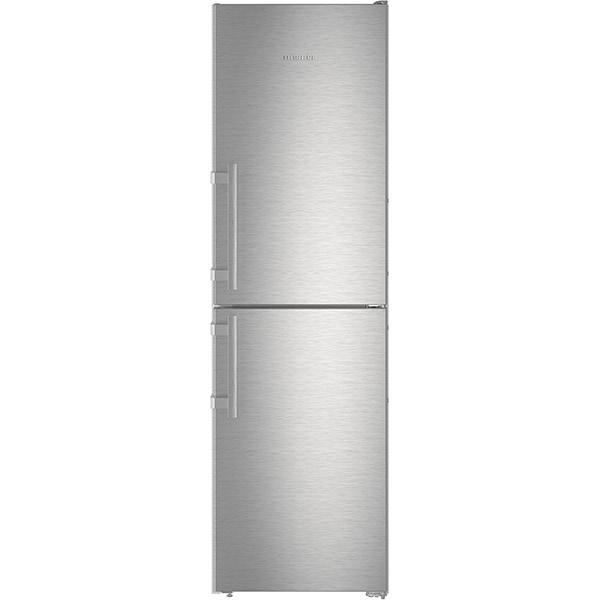 Combina frigorifica LIEBHERR CNef 3915, No Frost, 340 l, H 201.1 cm, Clasa E, inox