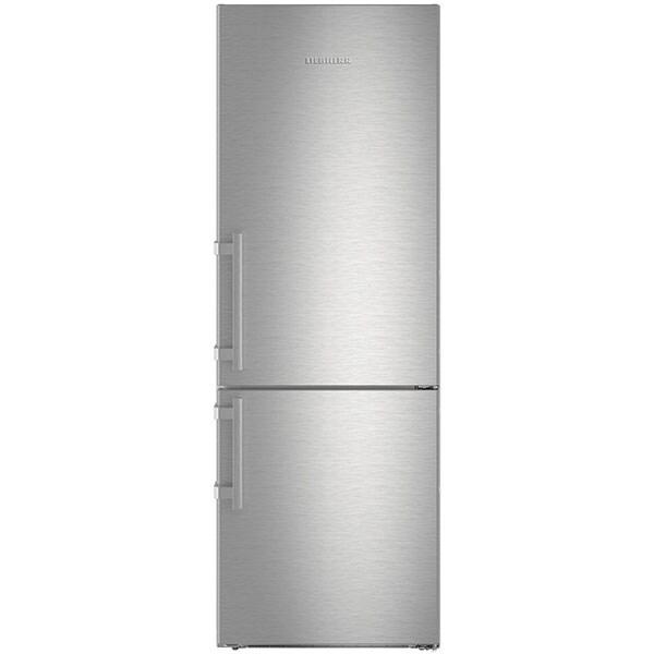 Combina frigorifica LIEBHERR CNef 5745, No Frost, 411 l, H 201 cm, Clasa D, inox
