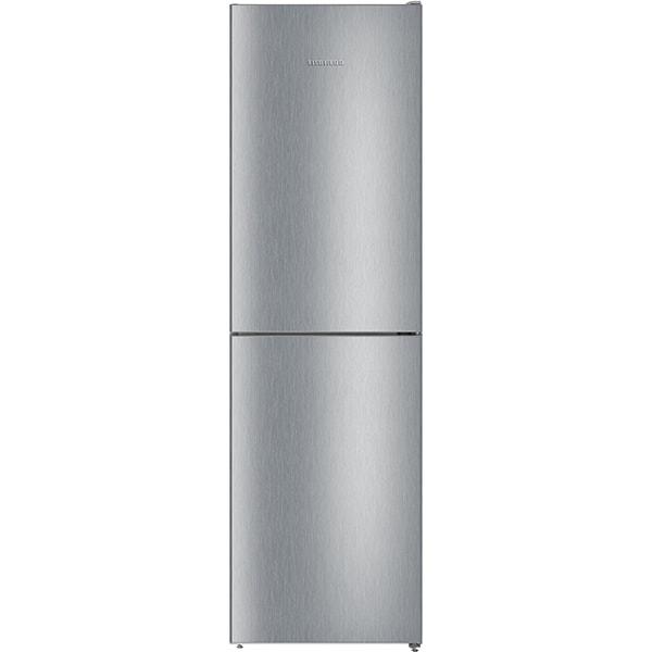 Combina frigorifica LIEBHERR CNel 4713, No Frost, 328 l, H 201.1 cm, Clasa E, argintiu