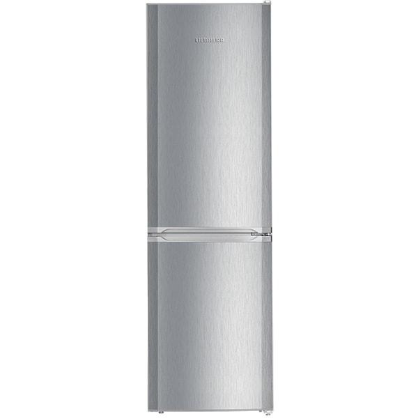 Combina frigorifica LIEBHERR CUel 331, SmartFrost, 296 l, H 181.5 cm, Clasa F, inox