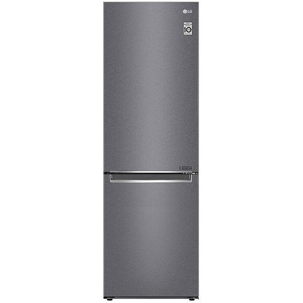 Combina frigorifica LG GBP31DSLZN, No Frost, 341 l, H 186 cm, Clasa E, argintiu