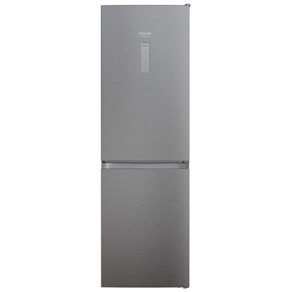 Combina frigorifica HOTPOINT HAFC8 TO32SX, Total No Frost, 335 l, H 191.2 cm, Clasa E, gri