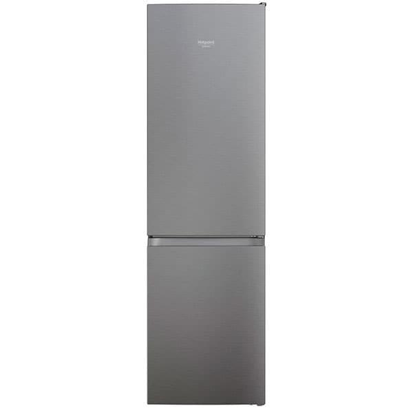 Combina frigorifica HOTPOINT HAFC9 TI32SX, Total No Frost, 367 l, H 202.7 cm, Clasa E, gri