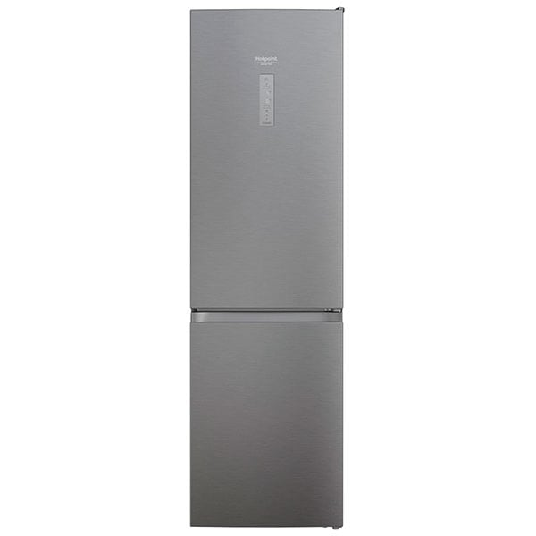 Combina frigorifica HOTPOINT HAFC9 TT43SX O3, No Frost, 367 l, H 202.7 cm, Clasa D, Total No Frost, gri