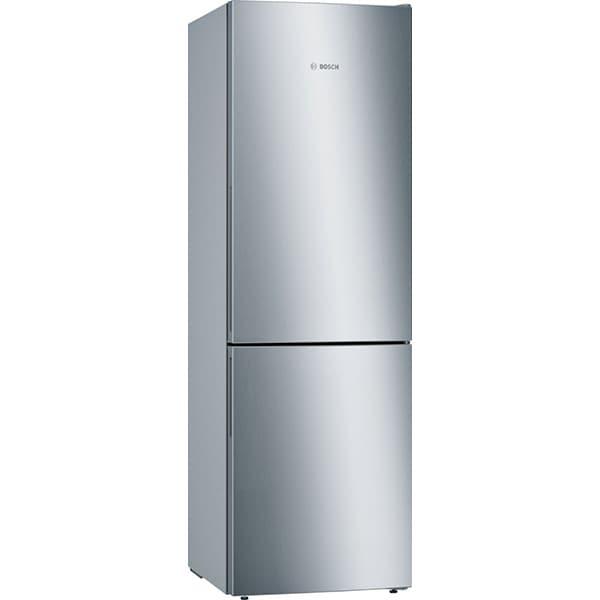 Combina frigorifica BOSCH KGE36Vl4A, LowFrost, 302 l, H 186 cm, Clasa A+++, argintiu