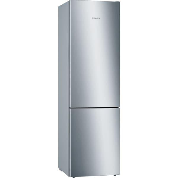Combina frigorifica BOSCH KGE39AICA, Low Frost, 343 l, H 201 cm, Clasa C, inox