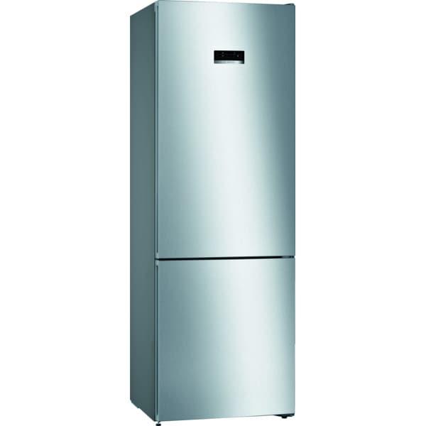 Combina frigorifica BOSCH KGN49MIEB, No Frost, 438 l, H 203 cm, Clasa E, inox