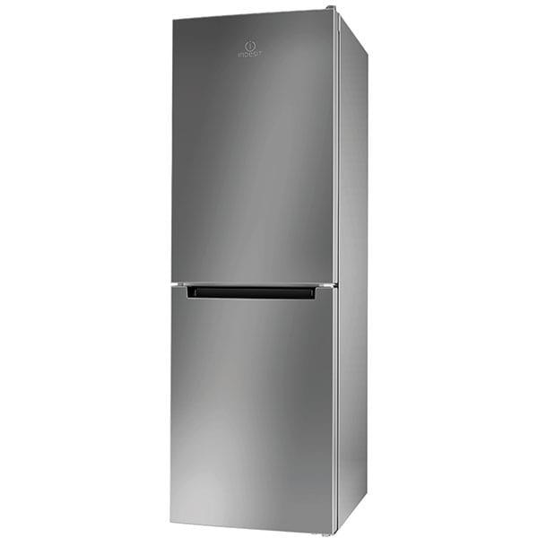 Combina frigorifica INDESIT LI7 SN1E X, No Frost, 295 l, H 176.3 cm, Clasa F, inox