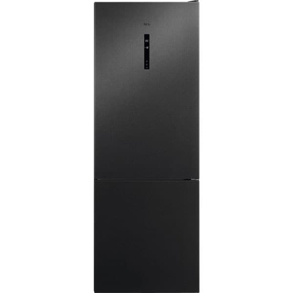Combina frigorifica AEG RCB646E3MB, No Frost, 461 l, H 192 cm, Clasa E, dark inox