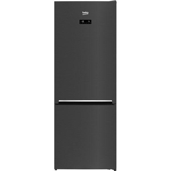 Combina frigorifica BEKO RCNE560E40ZXBRN, NeoFrost, 501 l, H 192 cm, Clasa E, negru