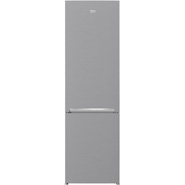 Combina frigorifica BEKO RCSA400K30XB, 380 l, H 201 cm, Clasa A++, argintiu