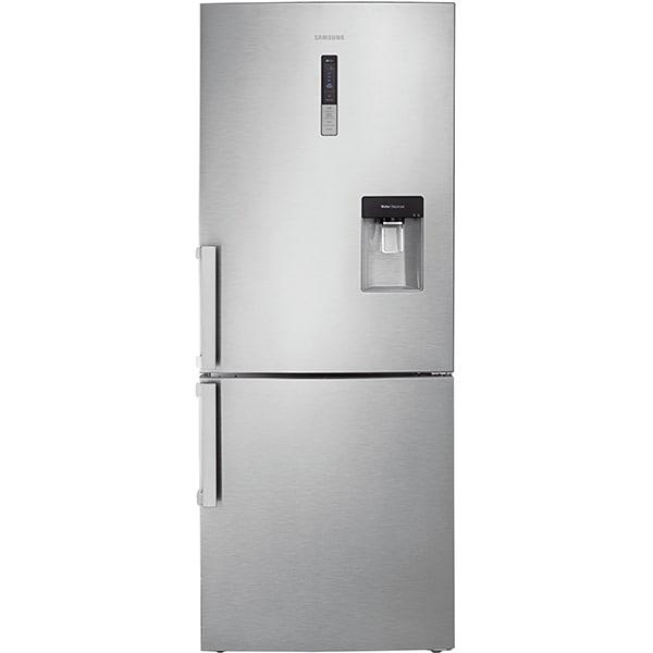Combina frigorifica SAMSUNG RL4363FBASL, No Frost, 432 l, H 185 cm, Clasa F, Dozator apa, All-Around Cooling, argintiu