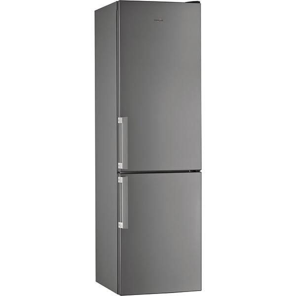 Combina frigorifica WHIRLPOOL W5 921C OX H, Direct Cool, 371 l, 201.1 cm, A+, inox