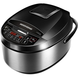 Multicooker REDMOND RMC-M4510E, 5l, 1000W, 40 programe, argintiu-negru