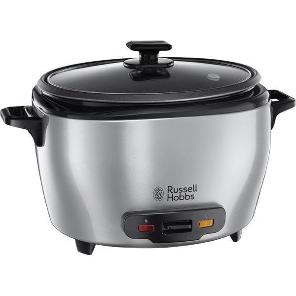 Aparat gatit orez RUSSELL HOBBS Maxicook 23570-56, 5l, 1000W, argintiu-negru