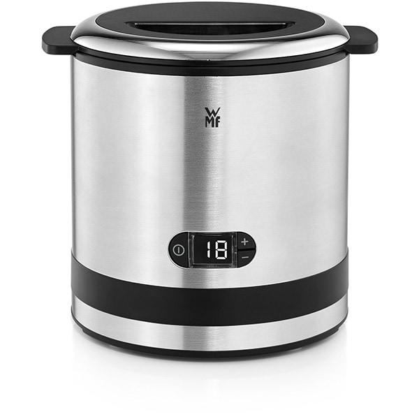 Aparat de facut inghetata WMF Kitchenminis 3 in 1 416450011, 12W, argintiu-negru