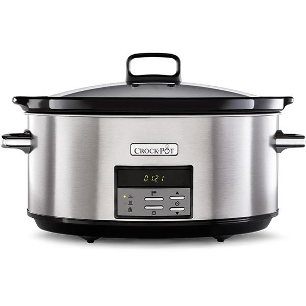 Multicooker CROCK-POT CSC063X-01, 7.5l, 320W, 10 programe, argintiu-negru