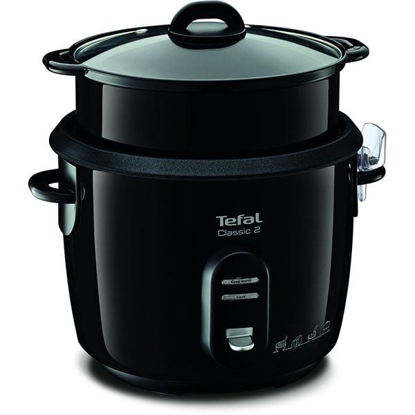 Multicooker TEFAL RK103811, 5l, 600W, 3 programe, negru