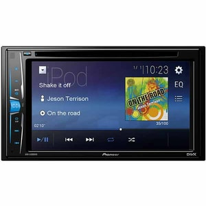 "Player auto PIONEER AVH-A100DVD, 6.2"", 4X50W, DVD, USB"