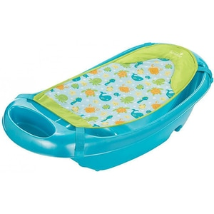Cadita si suport de baita SUMMER INFANT Splish n Splash, 0 luni - 2 ani, albastru