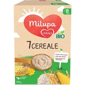 Cereale MILUPA 7 cereale Bio 619218, 6 luni+, 250g