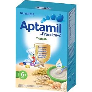 Cereale APTAMIL cu Pronutravi+ 624570, 6 luni+, 250g