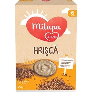 Cereale MILUPA Hrisca 657545, 6 luni+, 250g