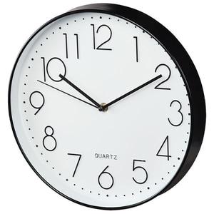 Ceas de perete HAMA Elegance 176902, negru-alb