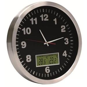 Ceas de perete HOME AWC 30T, argintiu