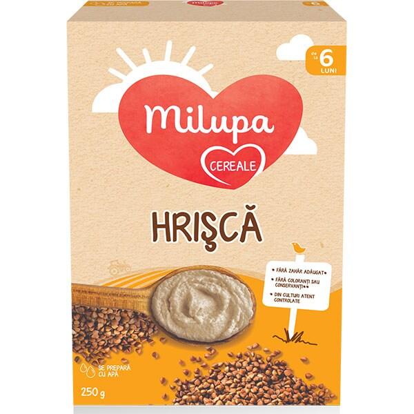 Cereale MILUPA MILUMIL Hrisca 657545, 6 luni+, 250g