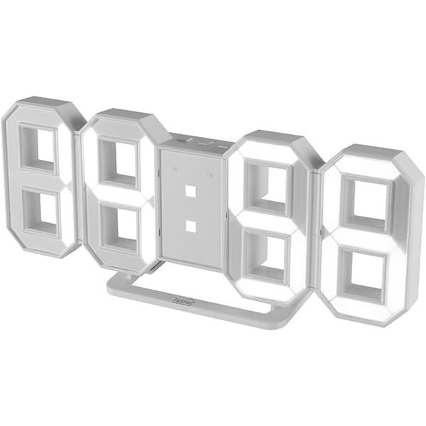 Ceas cu alarma HOME LTC 04, alb