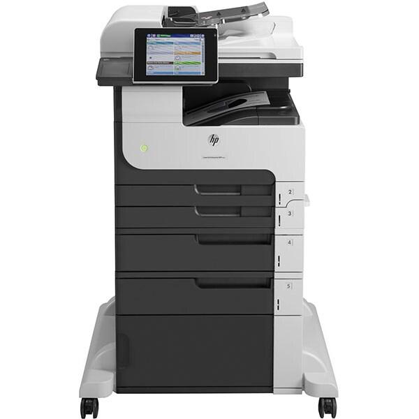 Multifunctional laser monocrom HP Enterprise MFP M725f, A3, USB, Retea, Fax