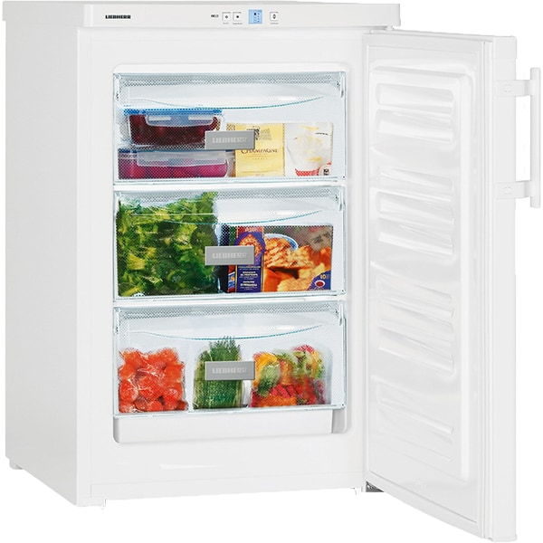 Congelator LIEBHERR GP 1213 Comfort, SmartFrost, 98 l, H 85.1 cm, Clasa E, alb