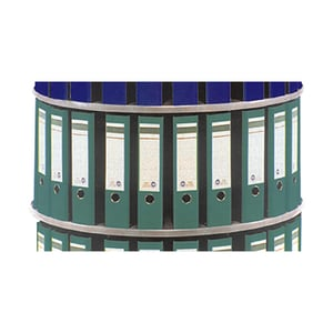 Extensie coloana rotativa pentru bibliorafturi CEHA, 80 x 36 cm, PFL, gri